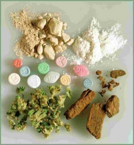 Different types of drugs symbolizing the drug law knowledge at the Law Offices of Jerod Gunsberg in Los Angeles, CA