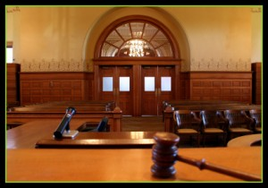 Courtroom in Los Angeles, CA