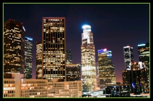 Los Angeles prostitution defense lawyer city skyline image