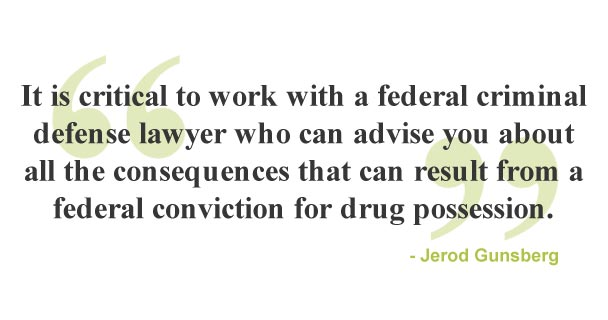 A quote about federal criminal defense lawyers at the Law Offices of Jerod Gunsberg in Los Angeles, CA